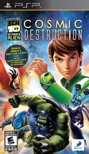 ben 10 ultimate alien playstation portable