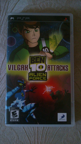ben 10 vilgax attacks alien force juego psp 3001 original