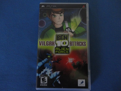 ben 10 vilgax attacks - para psp