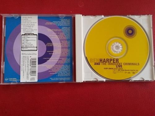 ben harper & the innocent criminals live made in japan tz08