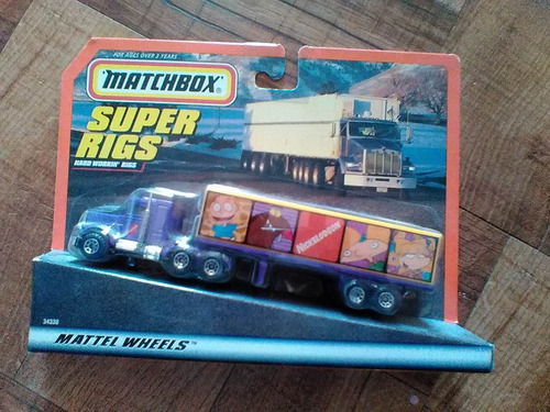 ben jerrys hauler super rigs matchbox tractocamion trabucle