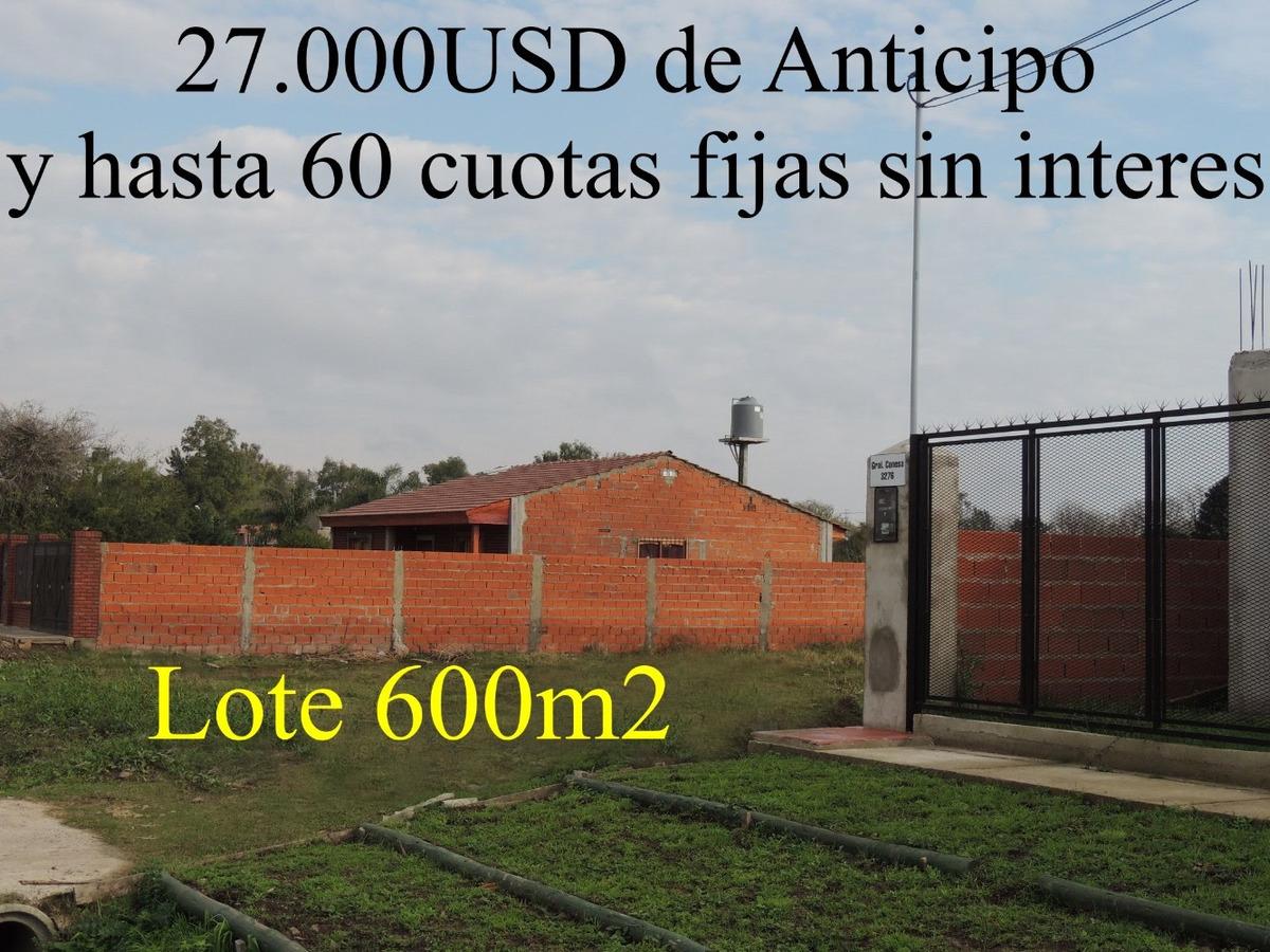 benavidez terreno ft nordelta anticipo 27.000u$s y 60 cuotas