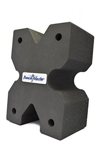 benchmaster arma estante x - bloque - pistola rest - banco s