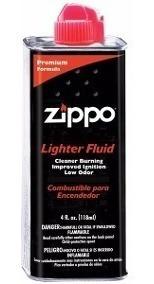 bencina zippo premium fluido 125ml encendedor -local palermo