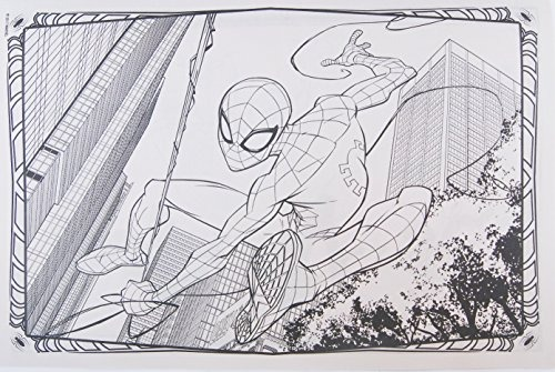 Bendon Marvel Spider-man Gigante Para Colorear Y Libro De A ...