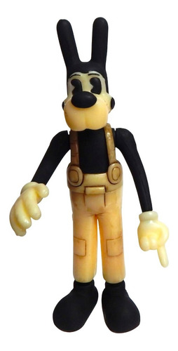 bendy and the ink machine figura boris the wolf con luz led