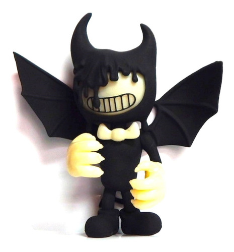 bendy and the ink machine figura demonio alas con luz led