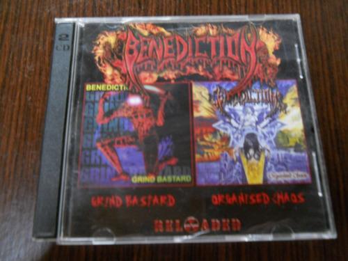 benediction - grind bastard organised chaos 2cd