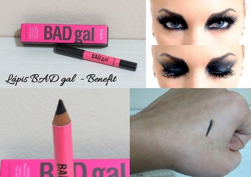 benefit lápis bad gal com frete grátis p/ todo brasil