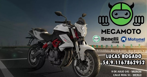 benelli 500 trk 502   baules y anclajes laterales / abs