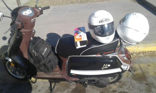 benelli seta 125 moto poco uso