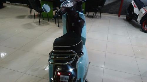benelli seta 125 scooter entrega inmediata 0km