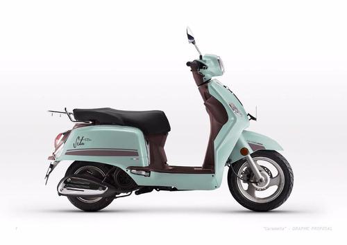 benelli seta 125 scooter (no sym styler milano zanella like)
