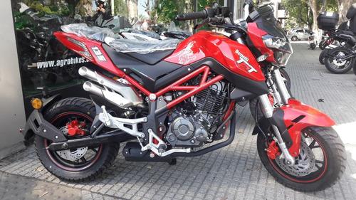 benelli tnt 135 cc  naked 13 hp entrega inmediata agrobikes