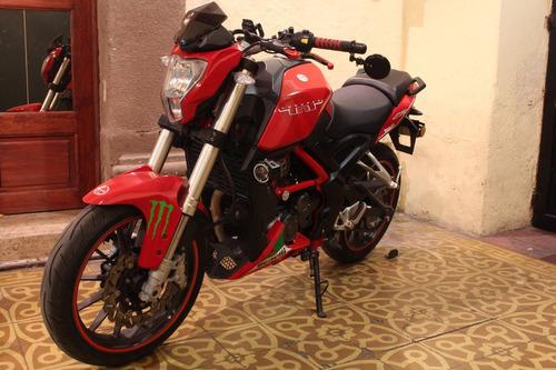 benelli tnt 25 roja 250cc