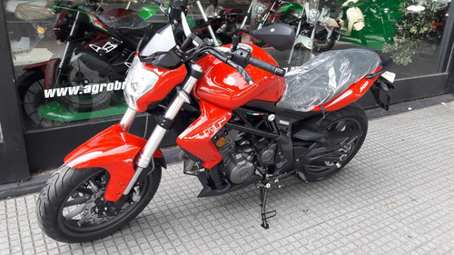 benelli tnt 300 0km 38hp c/pirelli angel(no mt03, duke 390)