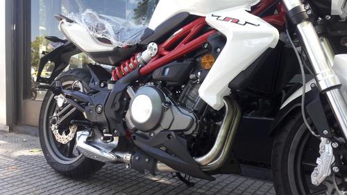 benelli tnt 300 0km c/pirelli bicilindrica (mt03, duke 390)