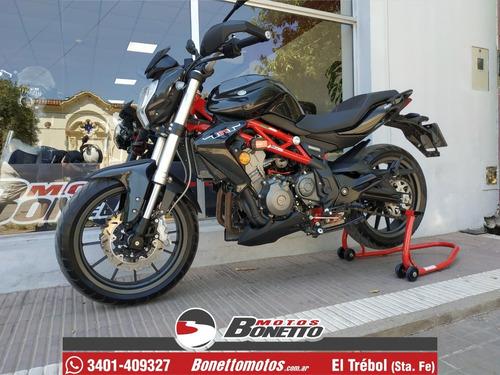 benelli tnt 300 - 2019 - 1800 km- bonetto motos (no dominar)