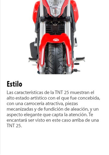 benelli tnt 300 - permutas - financiacion - bike up