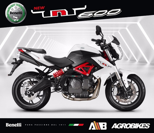 benelli tnt 600 s naked blanco agrobikes//*