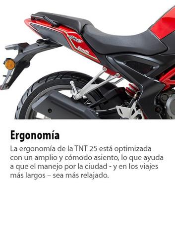 benelli tnt25 250 - gest emp gratis - 36 cuotas - bike up