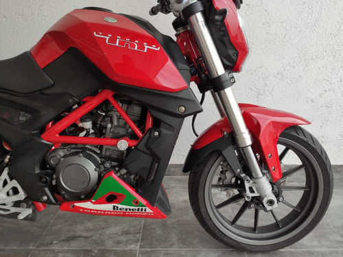 benelli tnt25 rojo 2017 1600 km inyeccion electronica. led