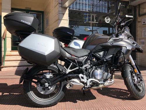 benelli trk 502  new 0km entrega inmediata color blanco