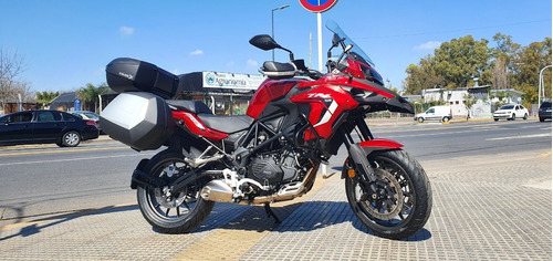 benelli trk 502 touring abs agrobikes