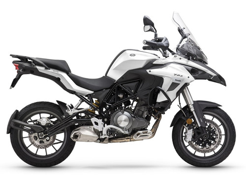 benelli trk 502 touring abs c/shad - azul