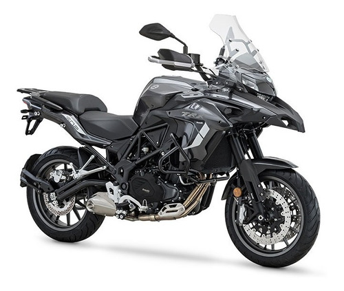 benelli trk 502 touring abs new gris agrobikes palermo