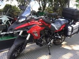 benelli trk 502 touring abs,shad. ( no bmw gs 800, nc 700)bl
