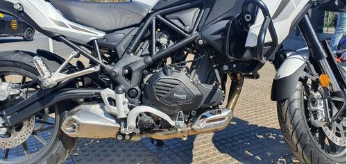 benelli trk 502 touring shad c/pirelli agrobikes - new line