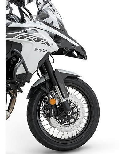 benelli trk 502 x trail abs, new gris agrobikes *33