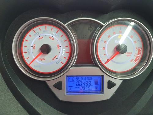 benelli zafferano 250 2019 499km - impecable
