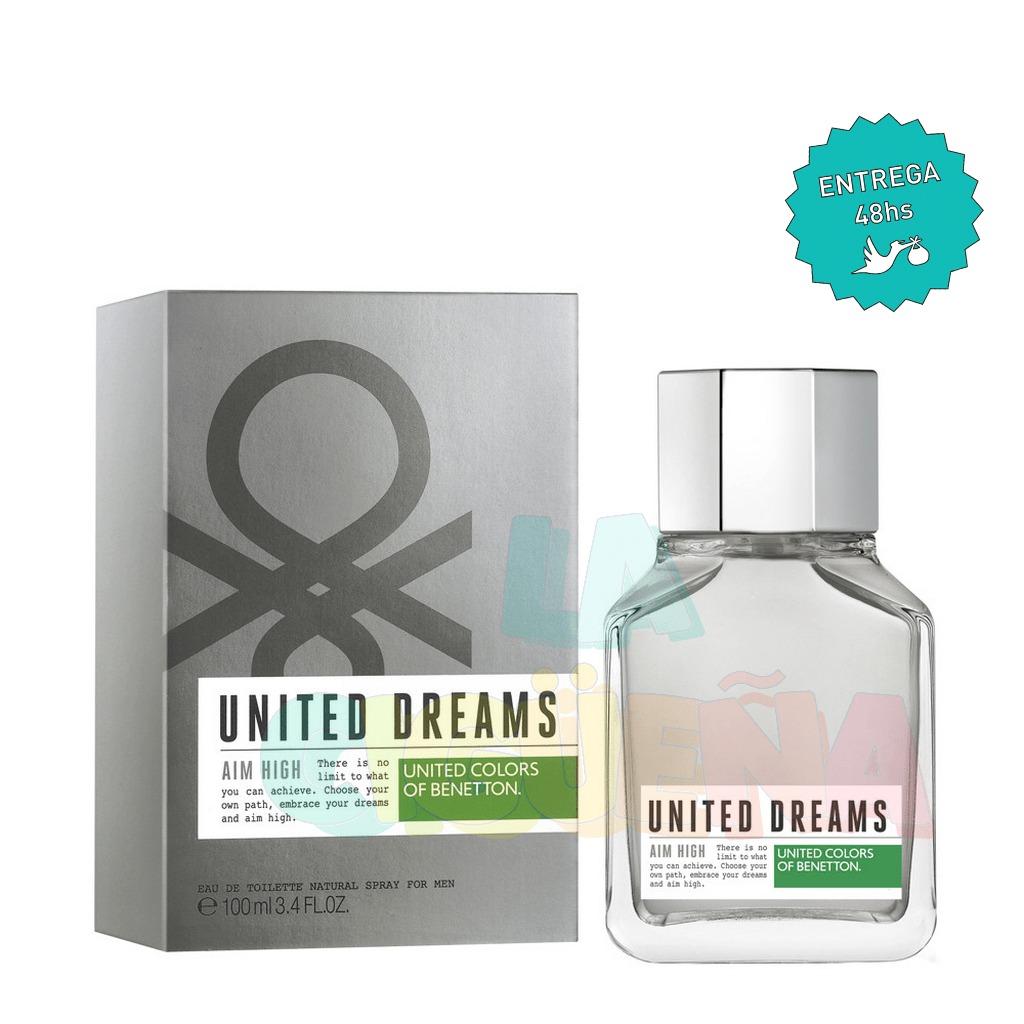 7e2cb4d3d benetton - eau de toilette men united dreams aim high x 100. Cargando zoom.
