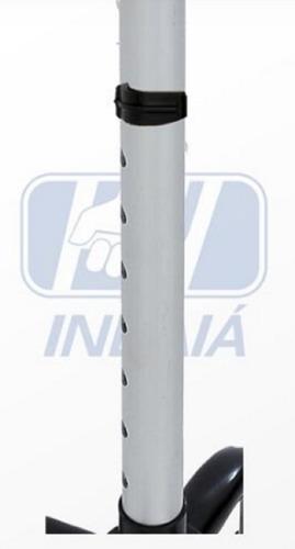 bengala bastão alumínio 4 pontas regulável  indaiá