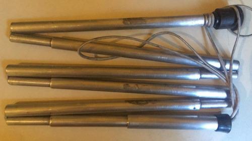 bengala cromada roller diversos tamanhos para cegos