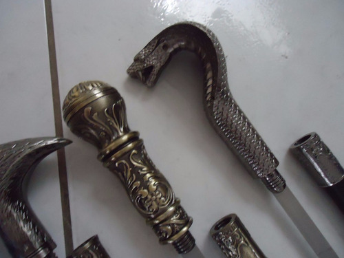 bengala espada punhal faca camuflada 5 modelos diferentes