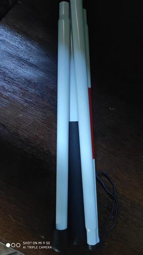 bengala  leve e  resistente alumínio aeronáutico para cegos