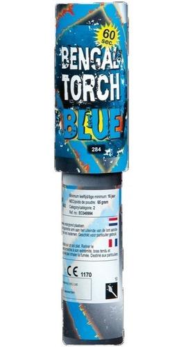 bengala llama color azul