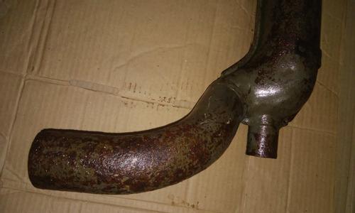 bengala mufla ar quente le motor fusca kombi original época