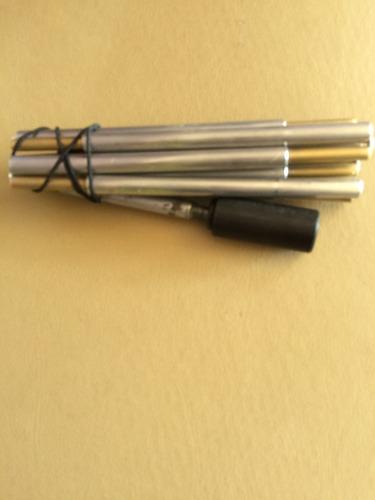 bengala social alumínio dobrável em 8 gomos com roller para deficientes visuais ou cegos