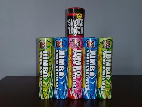 bengalas de humo de colores 100% confiables