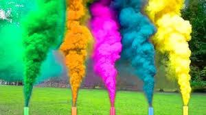 bengalas de humo de colores 100% recomendadas $4,5