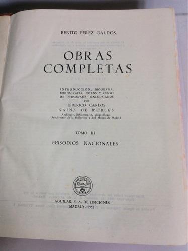 benito pérez galdós, obras completas, tomo iii