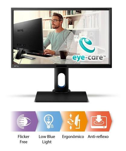 benq bl2420pt monitor 2k qhd 24 design animação cad/cam