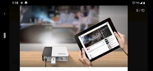 benq qcast, tecnología inalambrica de proyectores benq