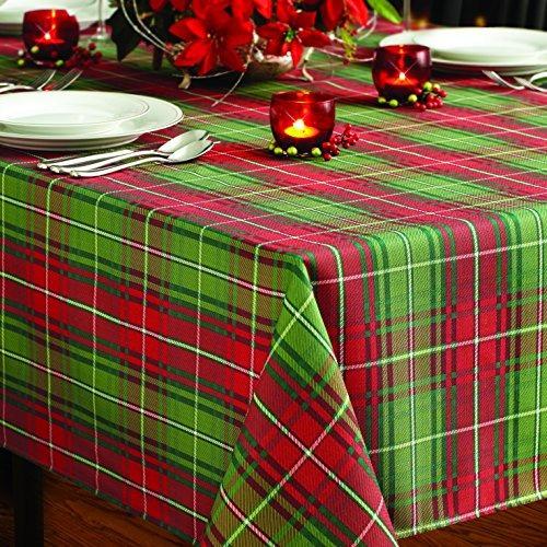benson mills navidad de la tela escocesa impreso mantel, de