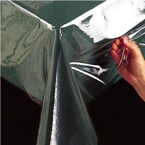 benson molinos de plástico transparente mantel, de 60 pulga