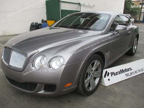 bentley continental gt 2009 automático coupe  $1,499,000